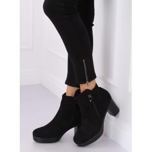 Trendové dámske členkové topánky na platforme