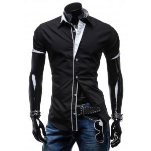 Čierna pánska košeľa na každú príležitosť