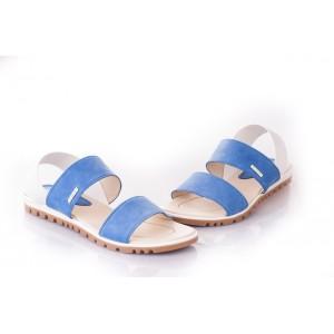 Dámske modré sandále za skvelé ceny
