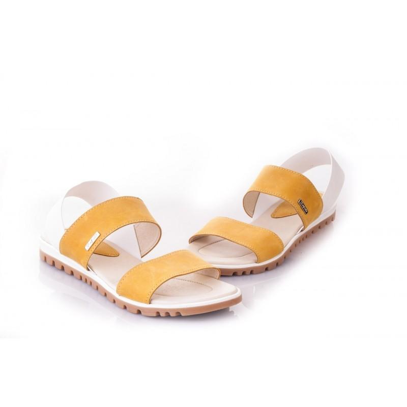 1c059be2e9f3 Predchádzajúci. Oranžové dámske sandále vyrobené z najkvalitnejších  materiálov ...