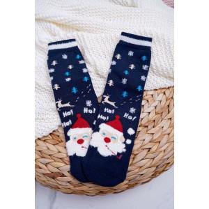 Vianočné ponožky s motívom Santa Clausa