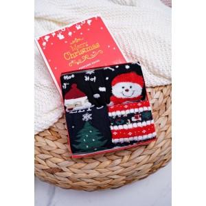 Vianočný set ponožiek pre dievčatá