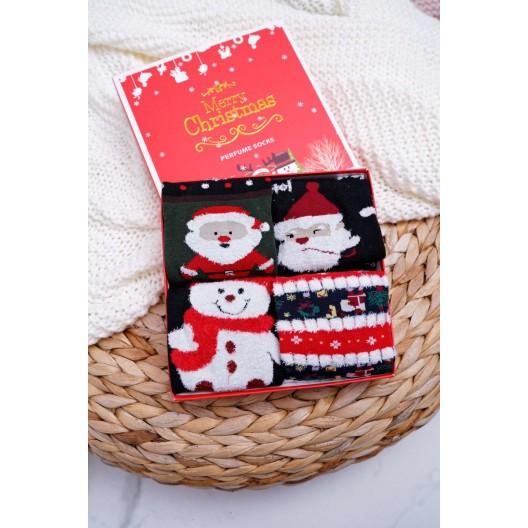 Voňavé vianočné ponožky pre dámy