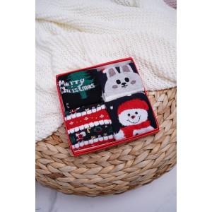 Vianočný set ponožiek s rozprávkovým motívom