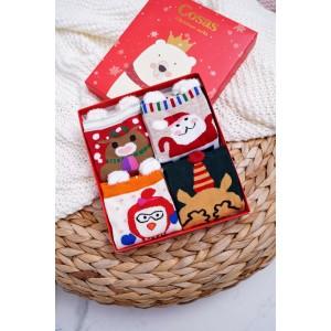 Set ponožiek s vianočným motívom pre dámy