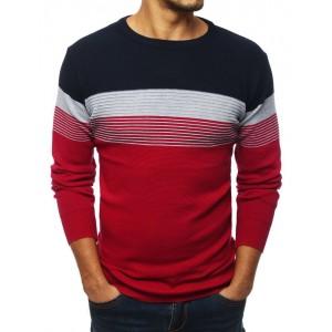 Pánsky sveter v červenej farbe