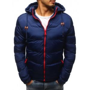 Moderná pánska zimná bunda s kapucňou