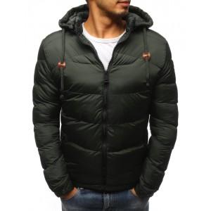 Zimná pánska bunda s kapucňou