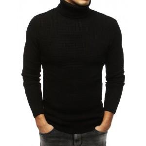 Čierny pánsky pulover