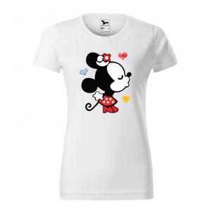 Dámske valentínske tričko s krátkym rukávom