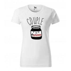 VEĽKOSŤ S Dámske tričko na valentína s originálnou potlačou