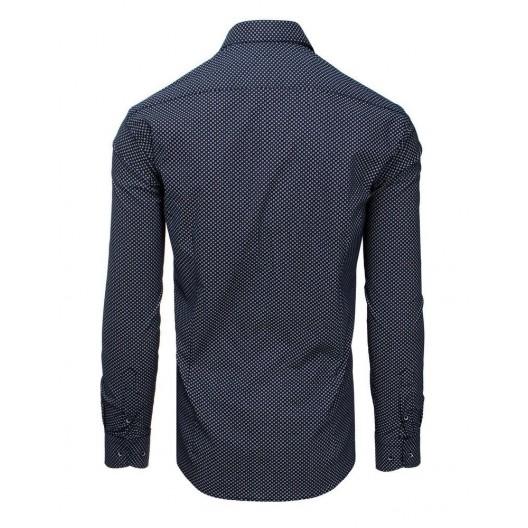 Luxusná pánska košeľa slim fit s dlhým rukávom