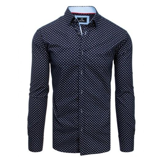 Pánska spoločenská košeľa slim fit s dlhým rukávom