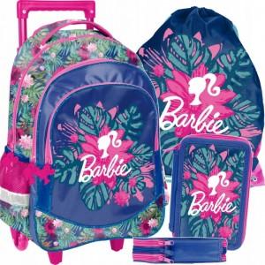 Barbie školská tašk na kolieskach