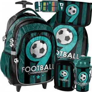 Chlapčenský školský set s futbalovým motívom