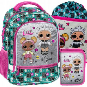 Školská taška L.O.L surprise s príslušenstvom