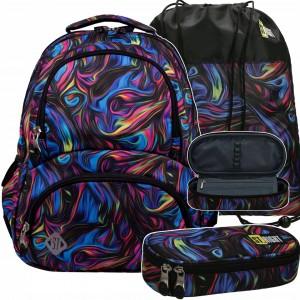 Teenagerský školský batoh pre dievčatá