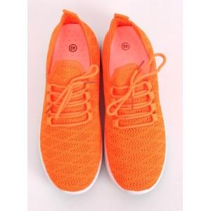 Športové dámske tenisky na leto oranžové