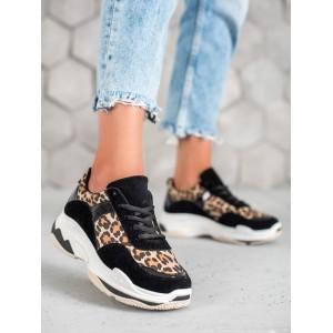 Exkluzívne dámske tenisky s leopardím motívom