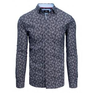 Moderná spoločenská košeľa s dlhým rukávom pre pánov