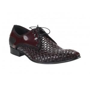 Pánske kožené elegantné topánky COMODO E SANO