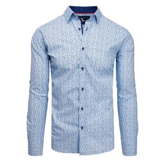 Pánska spoločenská košeľa modrej farby
