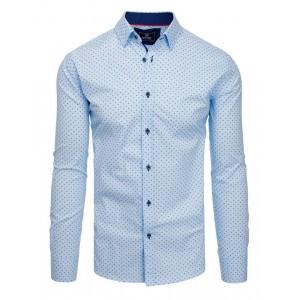 Exkluzívna vzorovaná košeľa strihu slim fit