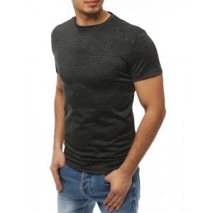 Športové pánske tričko v sivej farbe