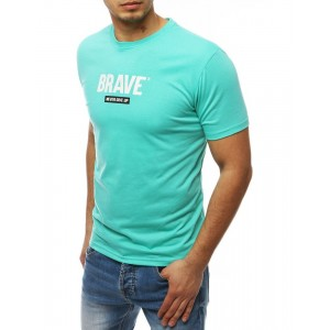 Štýlové tričko pánske v zelenej farbe