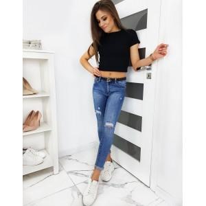 Trendové dámske džínsy v pohodlnom strihu slim fit