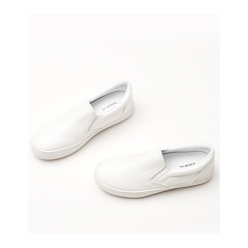 Moderné dámske letné topánky bielej farby - fashionday.eu f4c0ffcba68