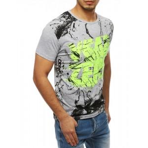 Pohodlné letné tričko s krátkym rukávom pre pánov