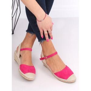 Originálne dámske sandále so zapínaním okolo členka