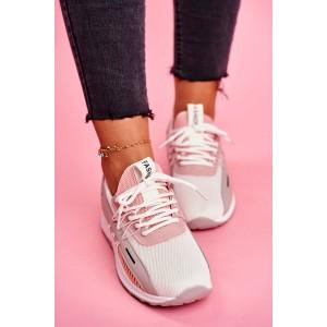 Športové dámske ružové tenisky sneakersy