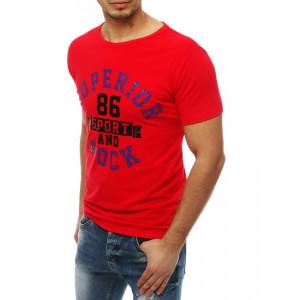Pánske tričká s nápisom s krátkym rukávom