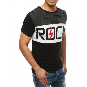 Originálne pánske tričko s krátkym rukávom ROCK