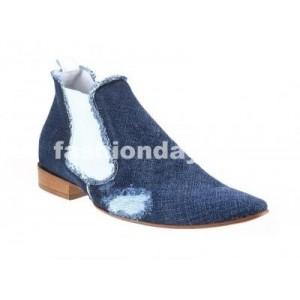 Pánske členkové topánky modré