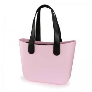 Originálna dámska gumená plážová taška s vysokou rukoväťou