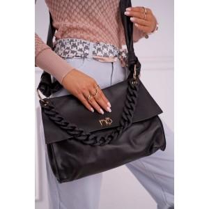 Čierna dámska shopper kabelka NOBO