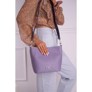 Jedinečná dámska kabelka fialovej farby značky NOBO