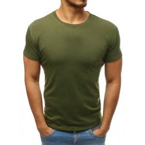 Zelené pánske letné tričko s krátkym rukávom