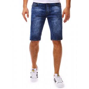 Štýlové letné džínsové kraťasy v pohodlnom strihu