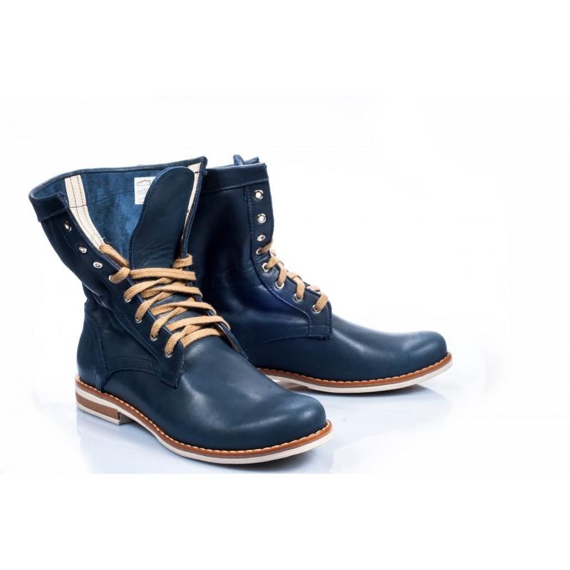 Predchádzajúci. Pohodlné dámske kožené topánky modrej farby  Pohodlné dámske  kožené ... f62f9befd5b