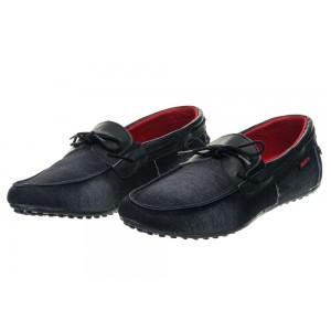 Pánske značkové topánky modrej farby