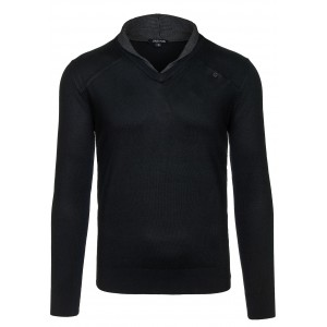 Pánska čierny sveter