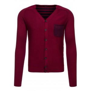 f707724c7e89 Bordový pánsky sveter - fashionday.eu