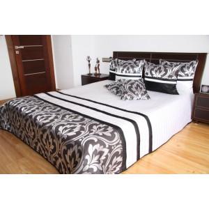 Luxusný biely prehoz na posteľ