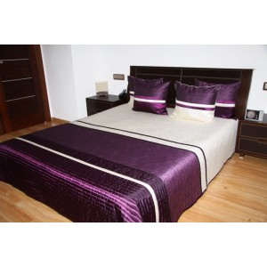 Elegantný prešívaný prehoz na manželskú posteľ