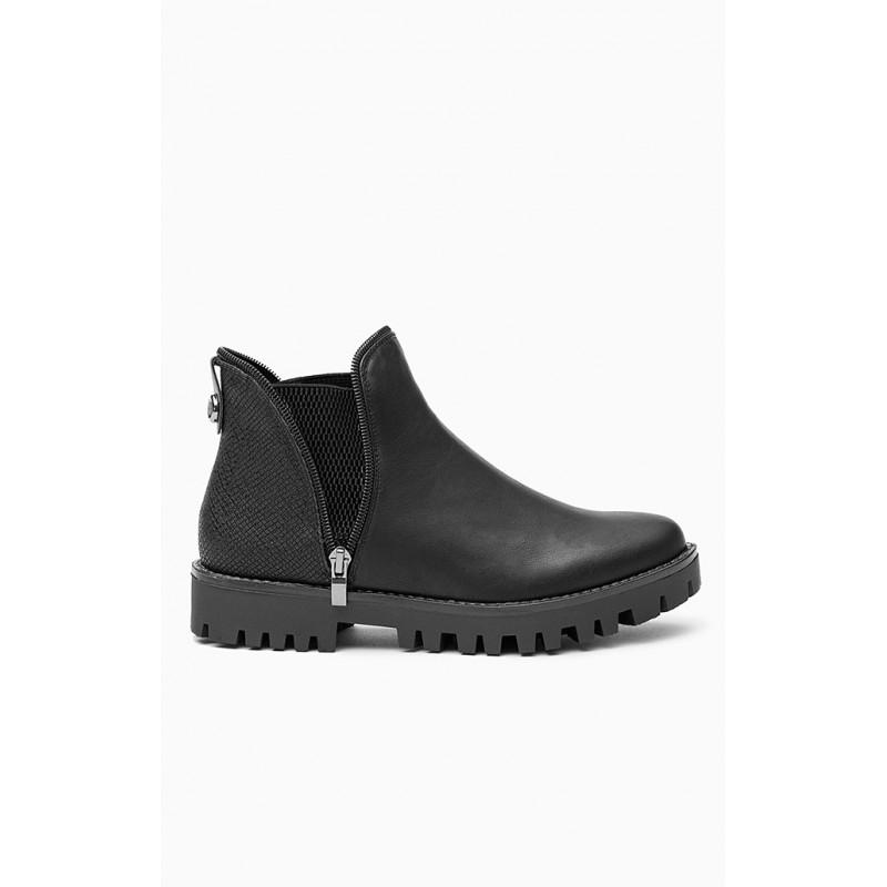 4e371fa458 Jesenné dámske topánky s hrubou podrážkou - fashionday.eu
