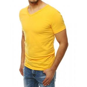 Basic žlté tričko
